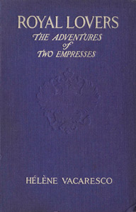 "Coperta romanului ""Royal Lovers"""